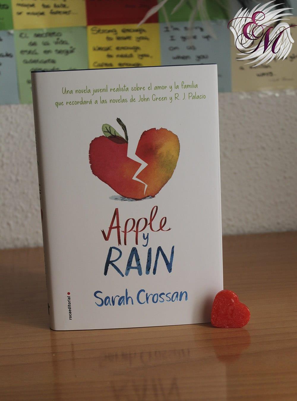 Apple y Rain, de Sarah Crossan - Reseña