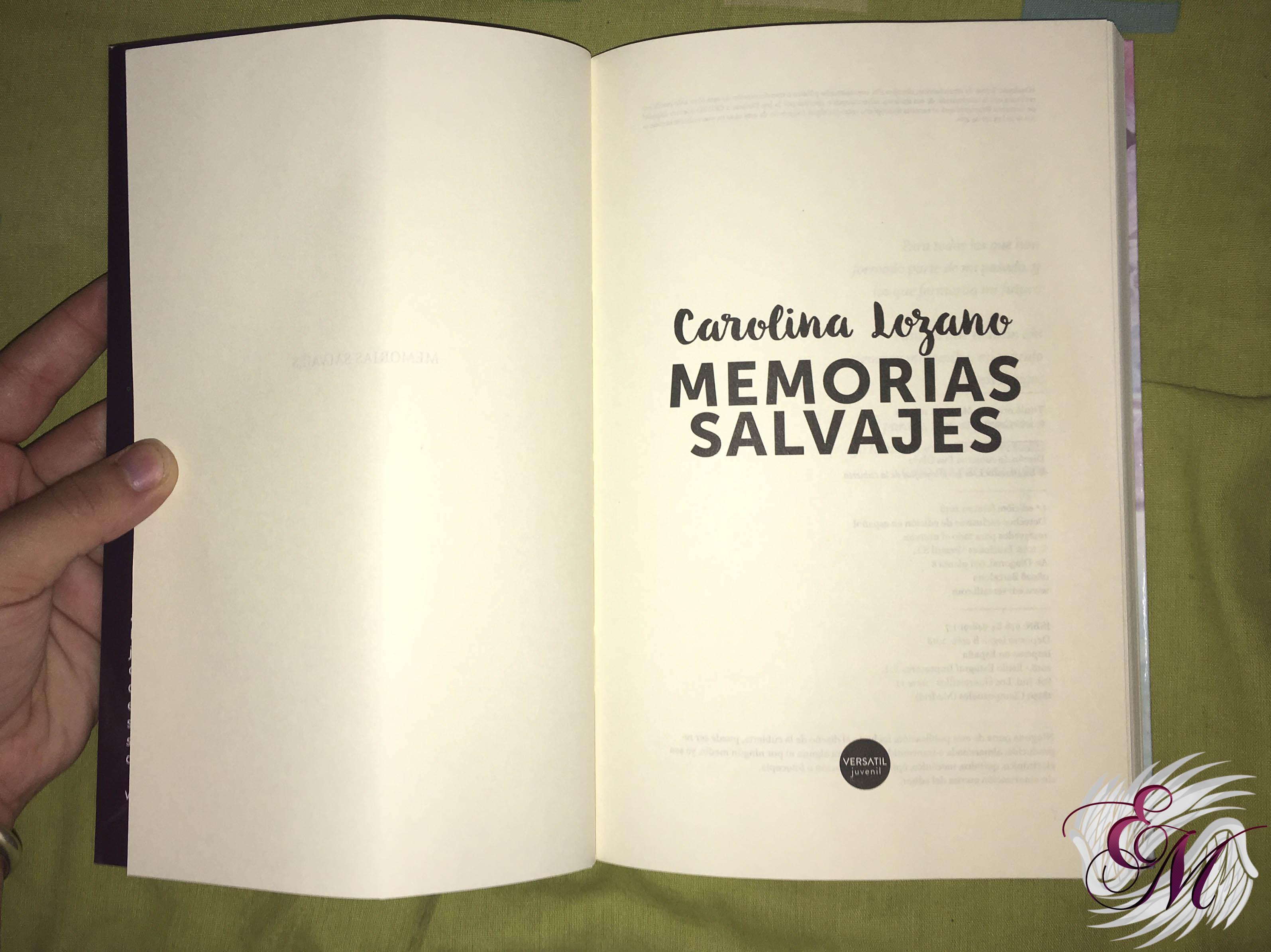 Memorias salvajes, de Carolina Lozano - Reseña