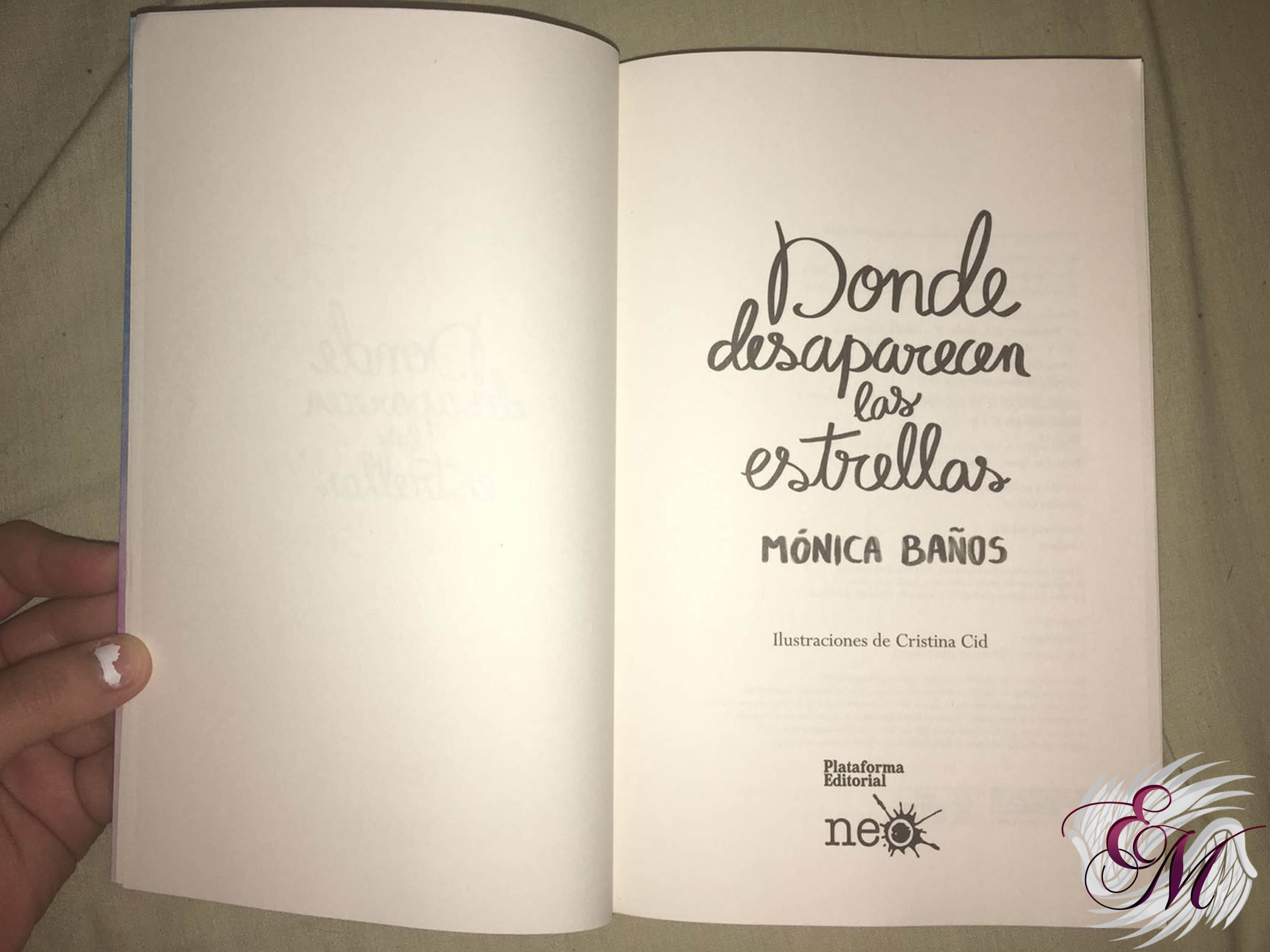 Donde desaparecen las estrellas, de Mónica Baños - Reseña