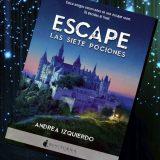 Escape: Las siete pociones, de Andrea Izquierdo – Reseña