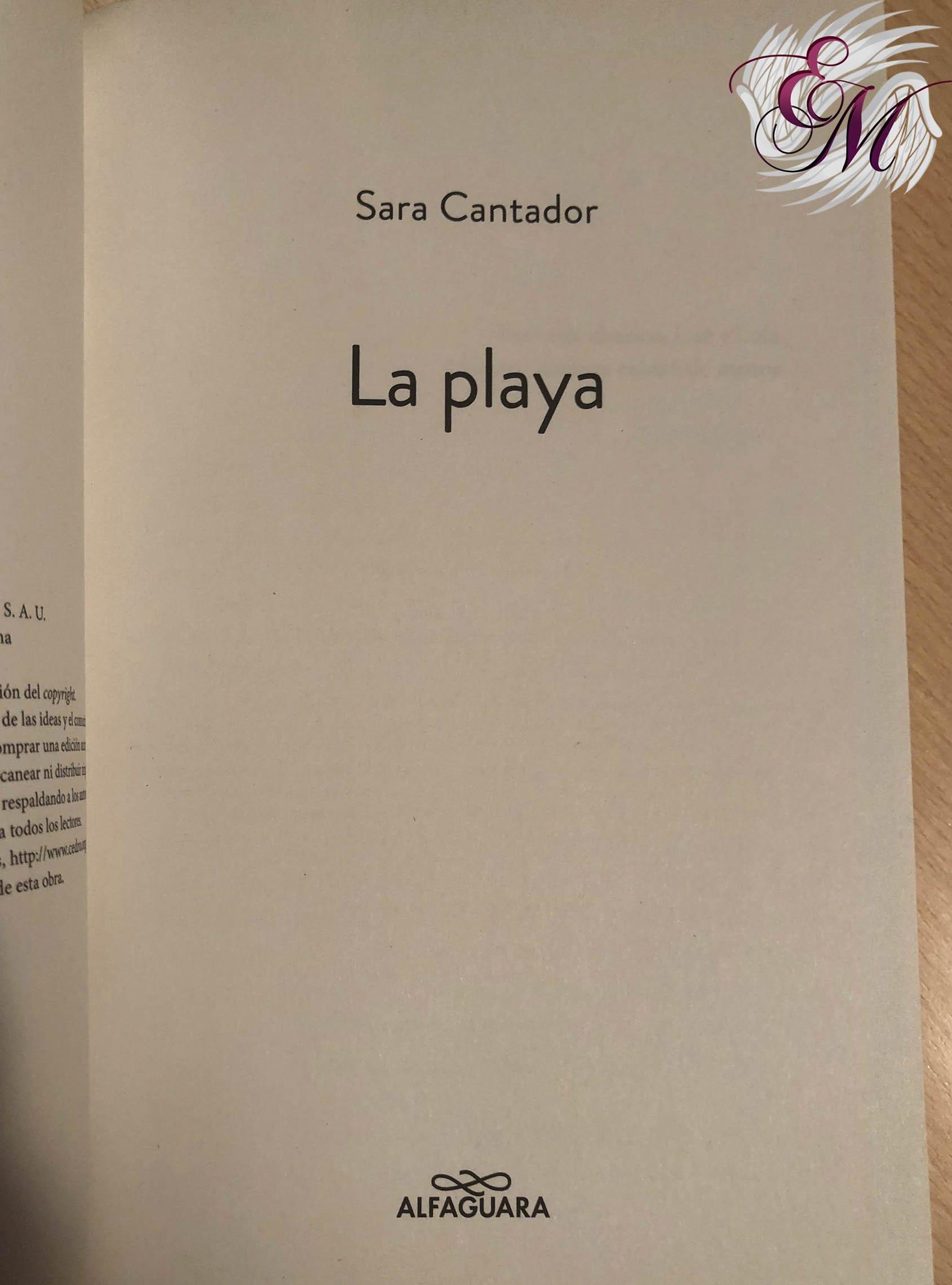 La playa, de Sara Cantador - Reseña