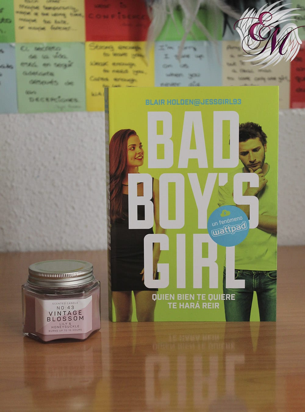 Quien bien te quiere te hará reír (Bad Boy's Girl 4), Blair Holden - Reseña