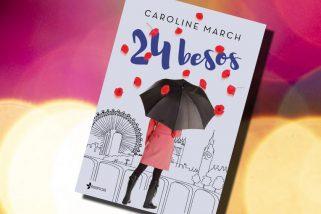 24 besos, de Caroline March – Reseña