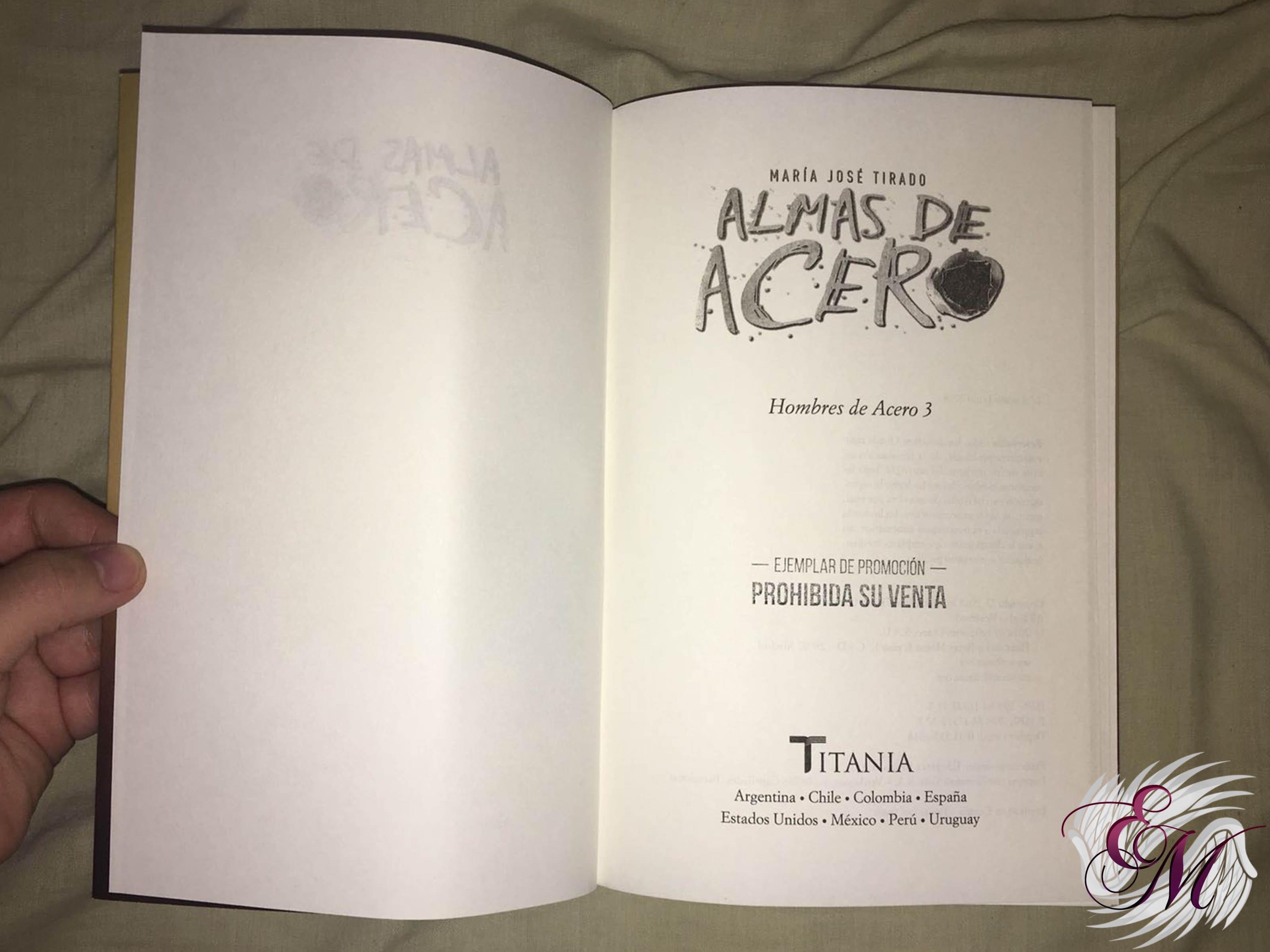 Almas de acero, de María José Tirado - Reseña