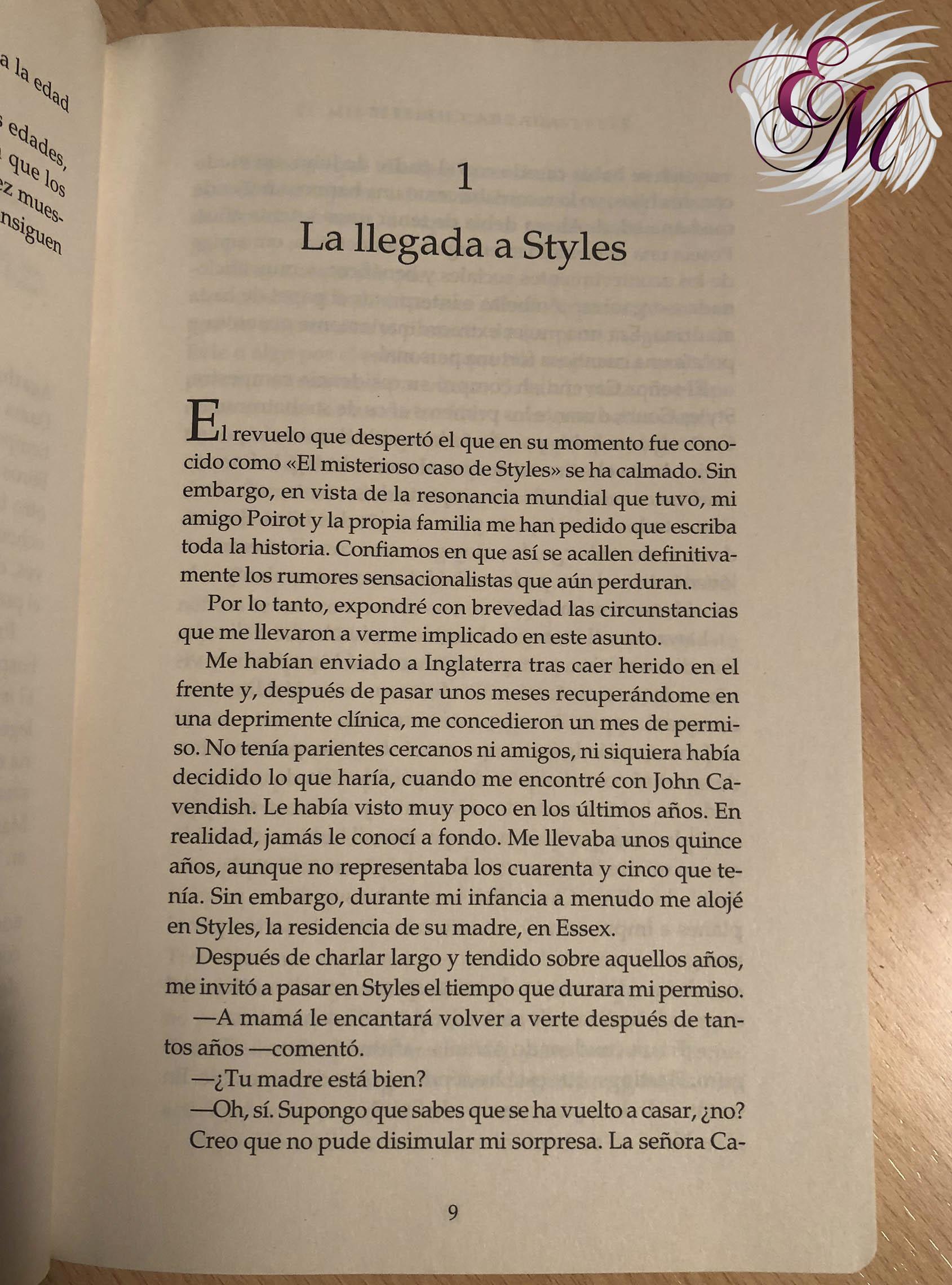 El misterioso caso de Styles, de Agatha Christie - Reseña