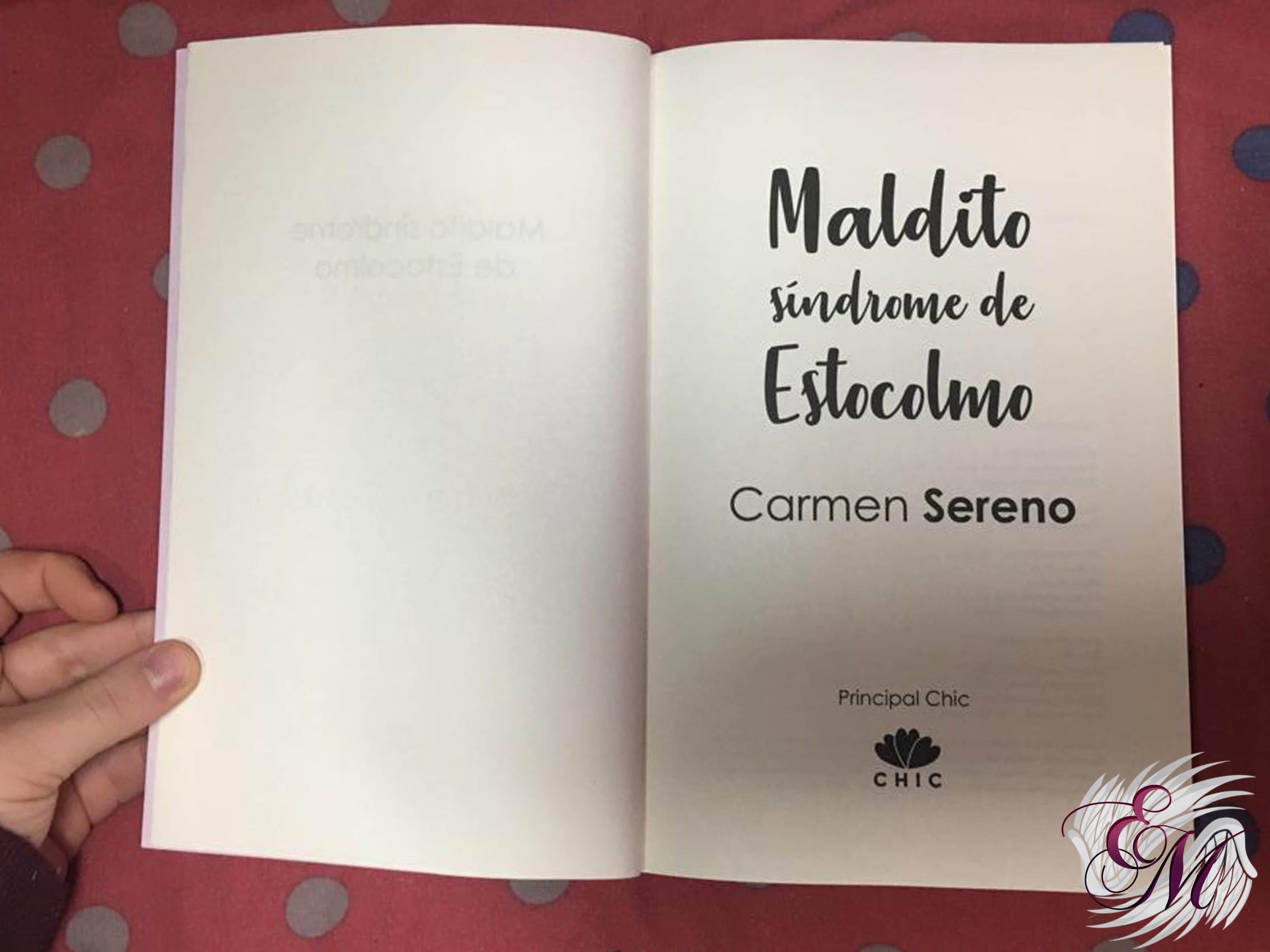 Maldito síndrome de Estocolmo, de Carmen Sereno - Reseña