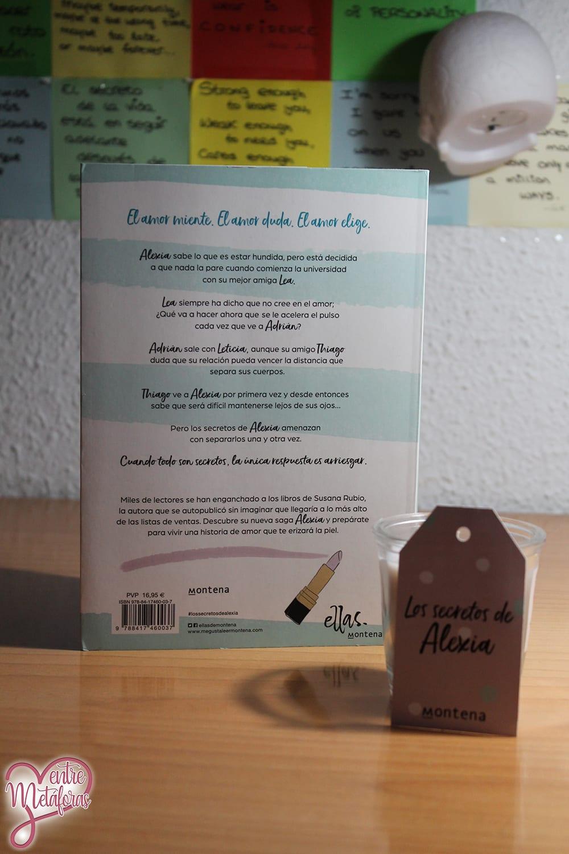 Los secretos de Alexia, de Susana Rubio - Reseña