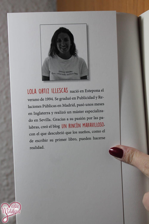 Tú primero, de Lola Ortiz - Reseña