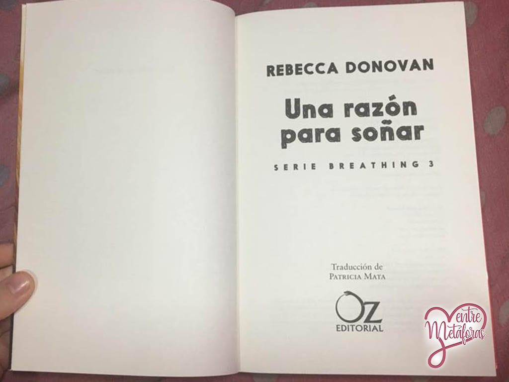 Una razón para soñar, de Rebecca Donovan - Reseña