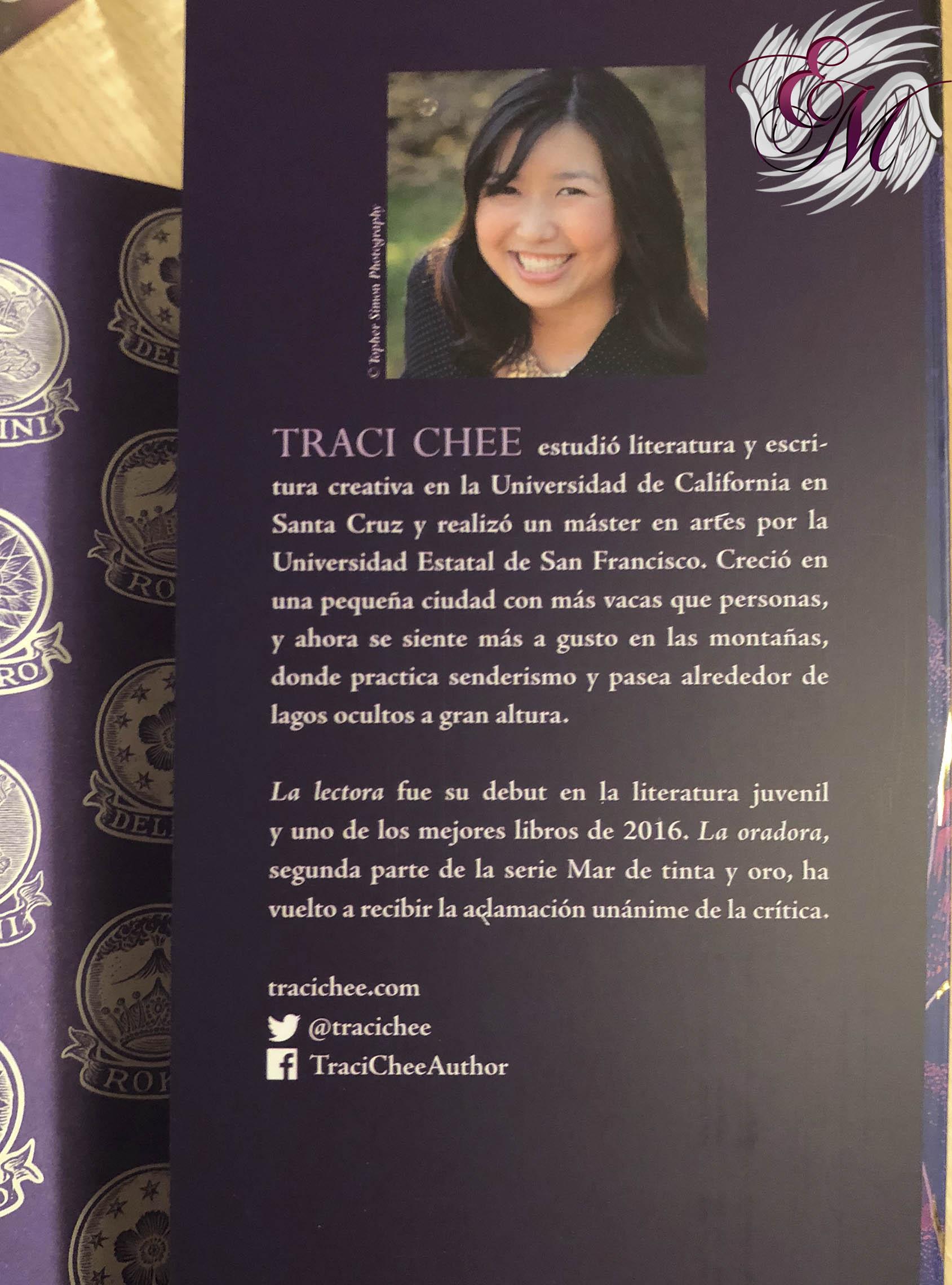 La oradora, de Traci Chee - Reseña