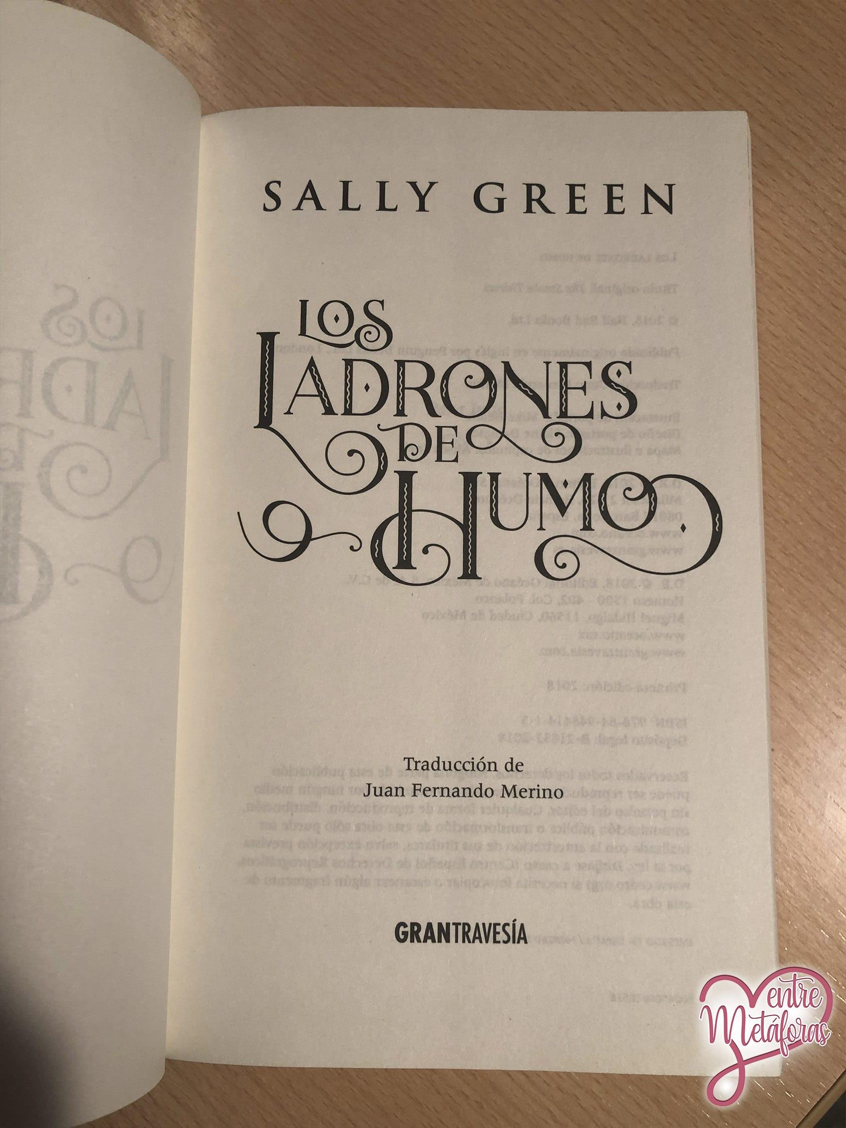 Los ladrones de humo, de Sally Green - Reseña