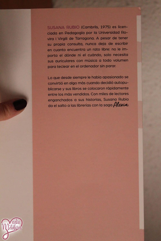 Las dudas de Alexia, de Susana Rubio - Reseña
