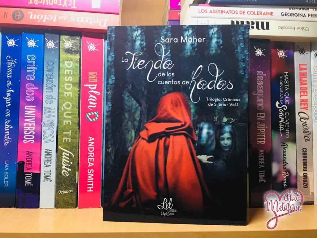 La tienda de los cuentos de hadas, de Sara Maher - Reseña