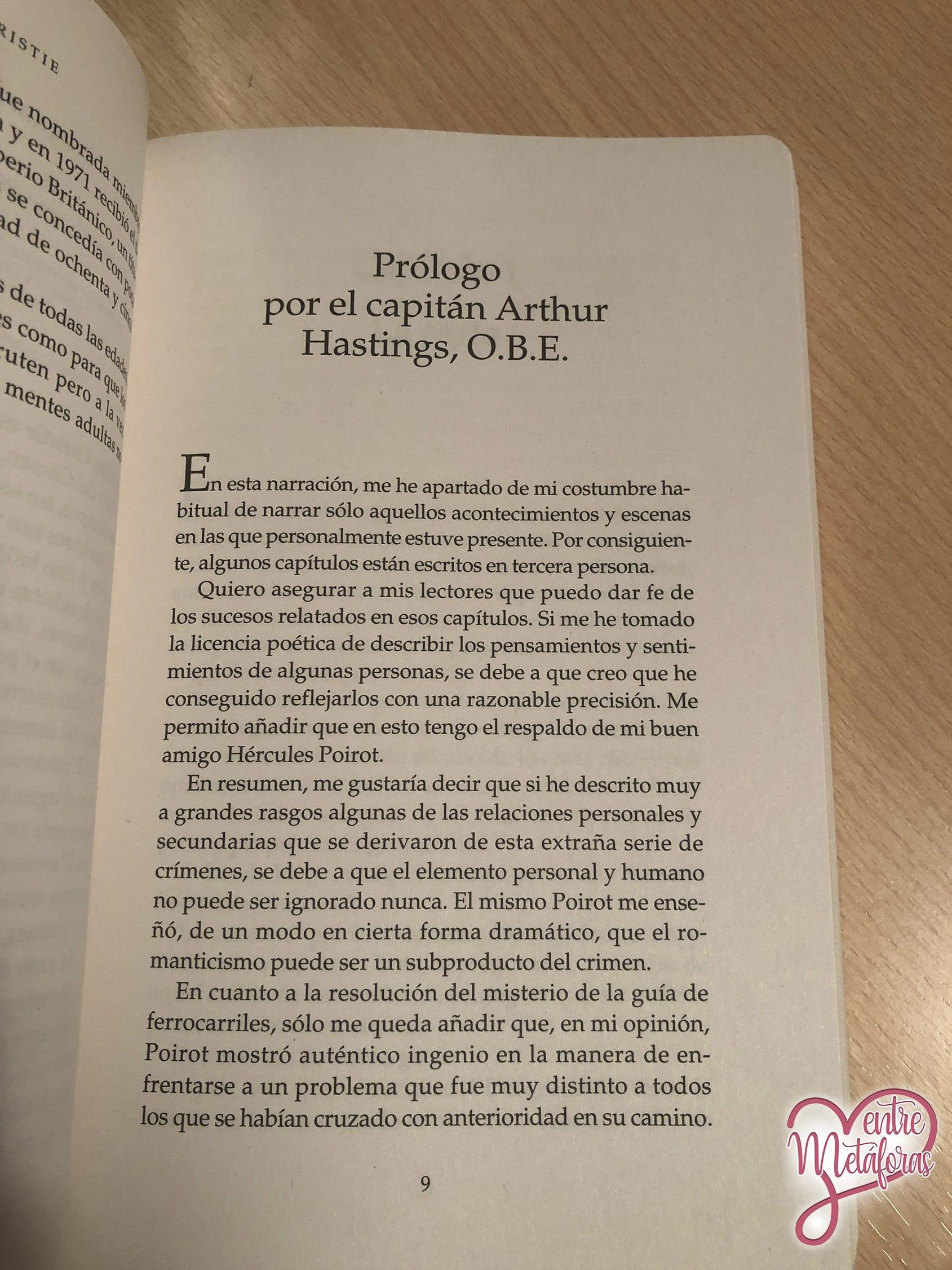 El misterio de la guía de ferrocarriles, de Agatha Christie - Reseña