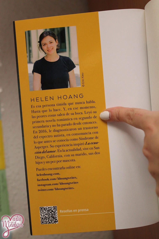La ecuación del amor, de Helen Hoang - Reseña