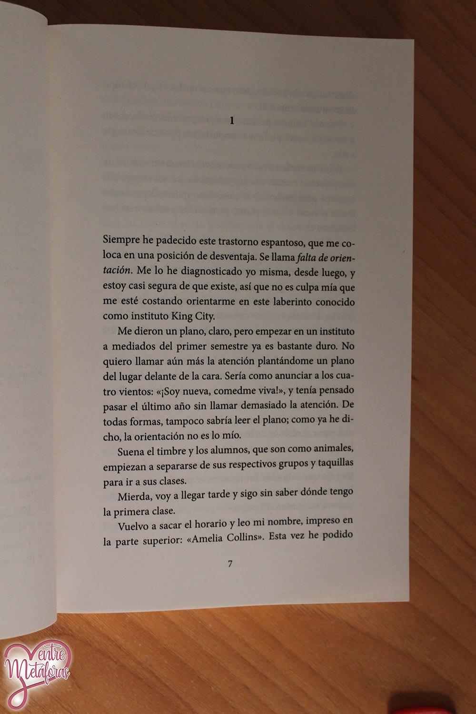 With me. Amelia , de Jessica Cunsolo - Reseña
