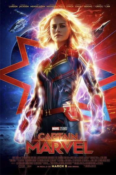 5 razones para ver... Capitana Marvel