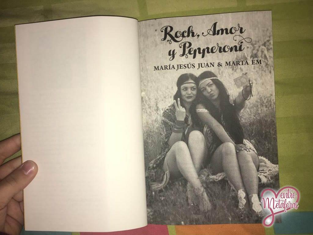 Rock, Amor y Pepperoni, de María Jesús Juan y Marta EM - Reseña