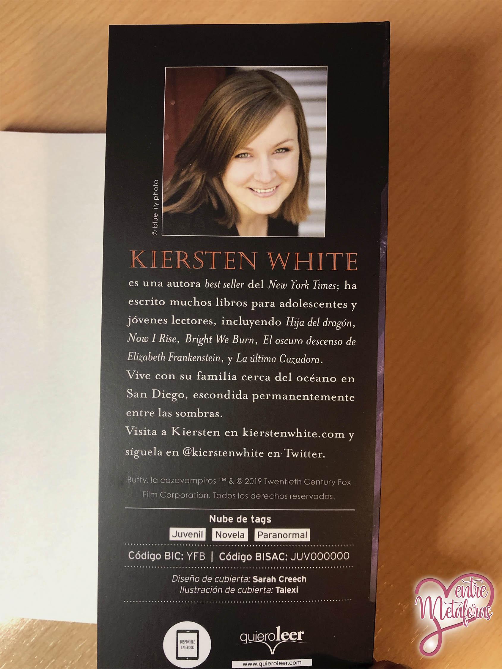 La última cazadora, de Kiersten White - Reseña