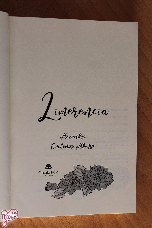 Limerencia, de Alexandra Cárdenas Alfonso - Reseña