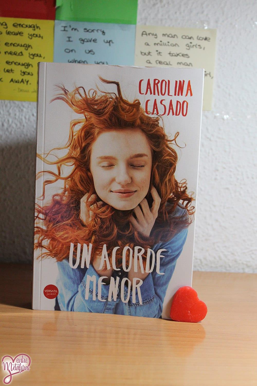 Un acorde menor, de Carolina Casado – Reseña