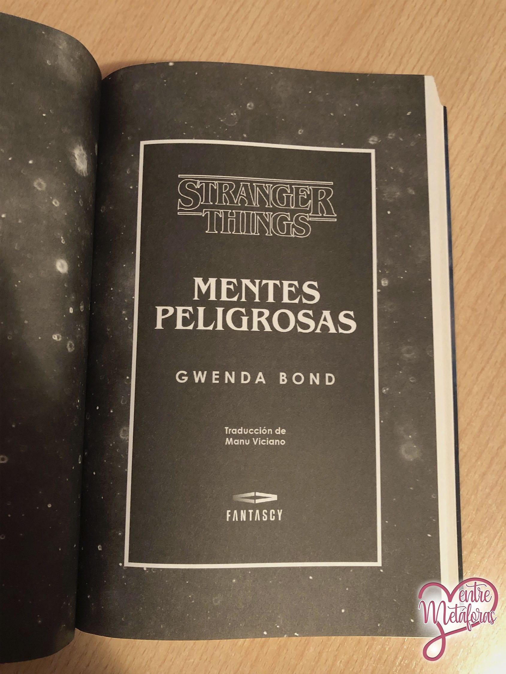 Mentes Peligrosas, de Gwenda Bond - Reseña