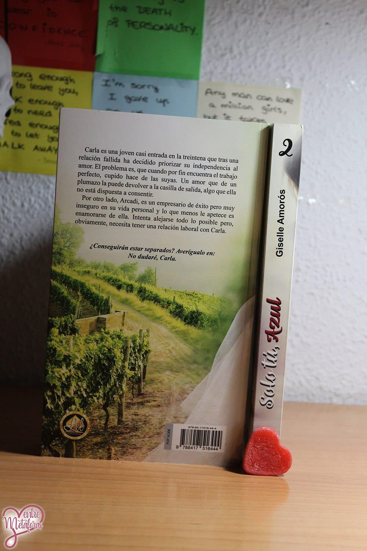 No dudaré, Carla, de Giselle Amorós - Reseña