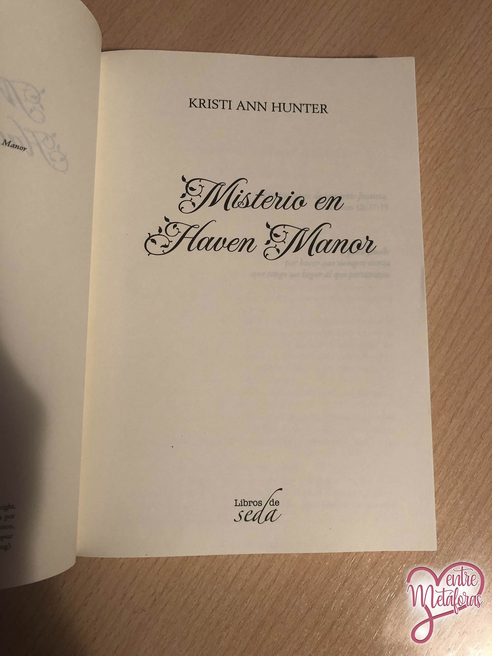 El misterio de Haven Manor, de Kristi Ann Hunter - Reseña