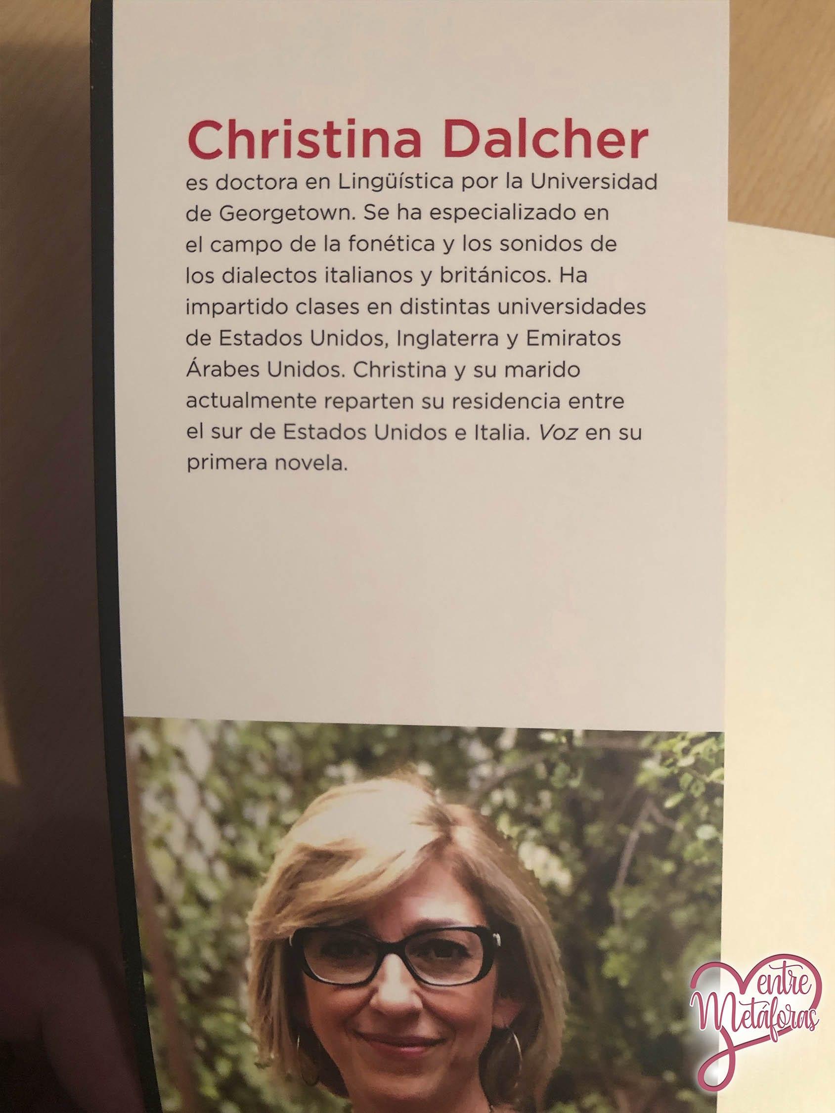 Voz, de Christina Dalcher - Reseña