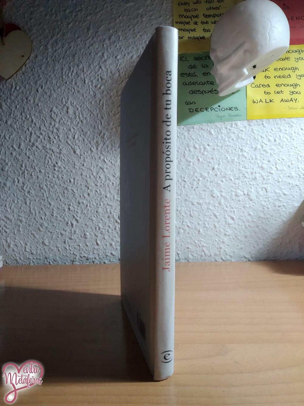 A propósito de tu boca, de Jaime Lorente - Reseña