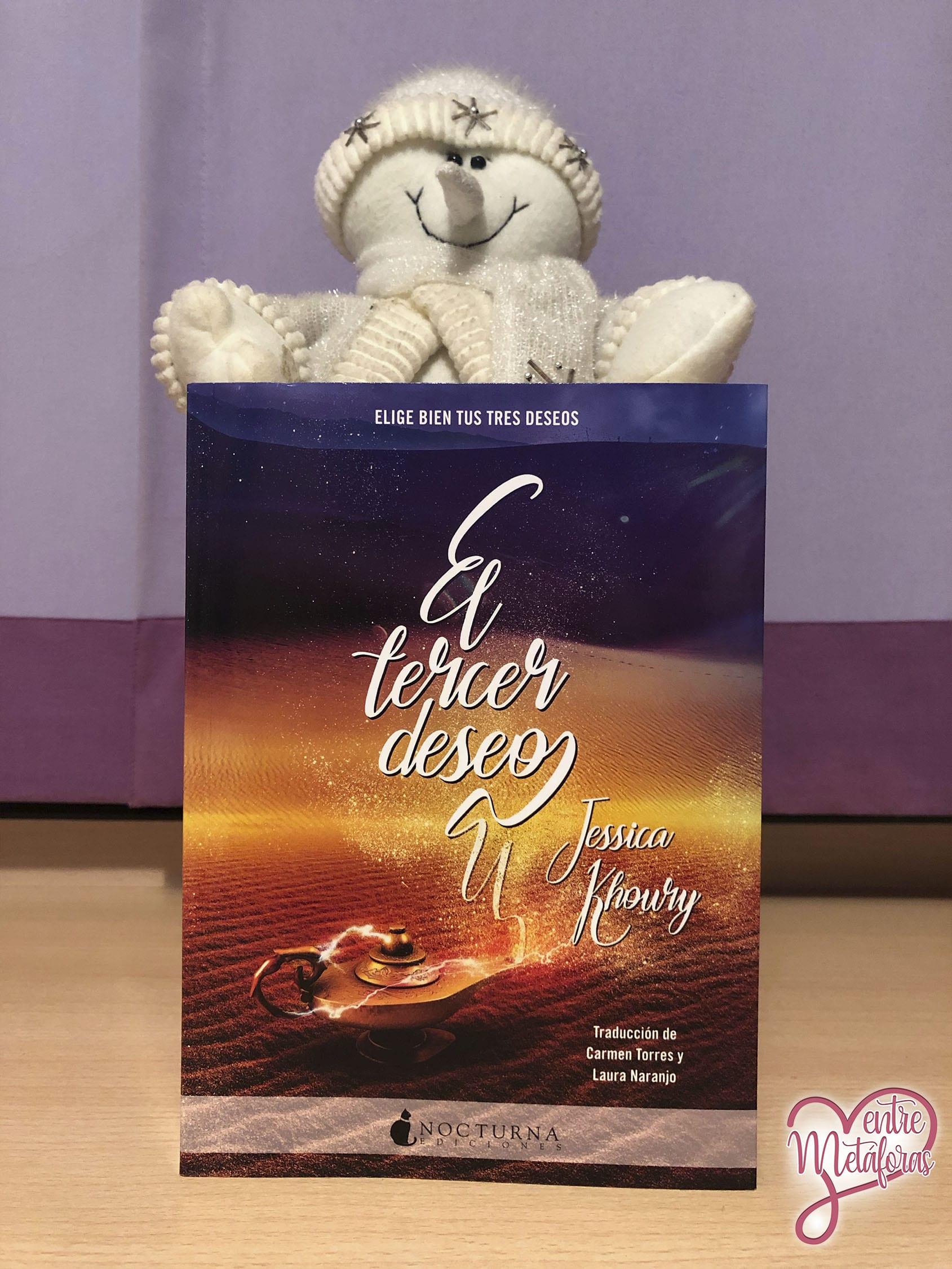 El tercer deseo, de Jessica Khoury - Reseña