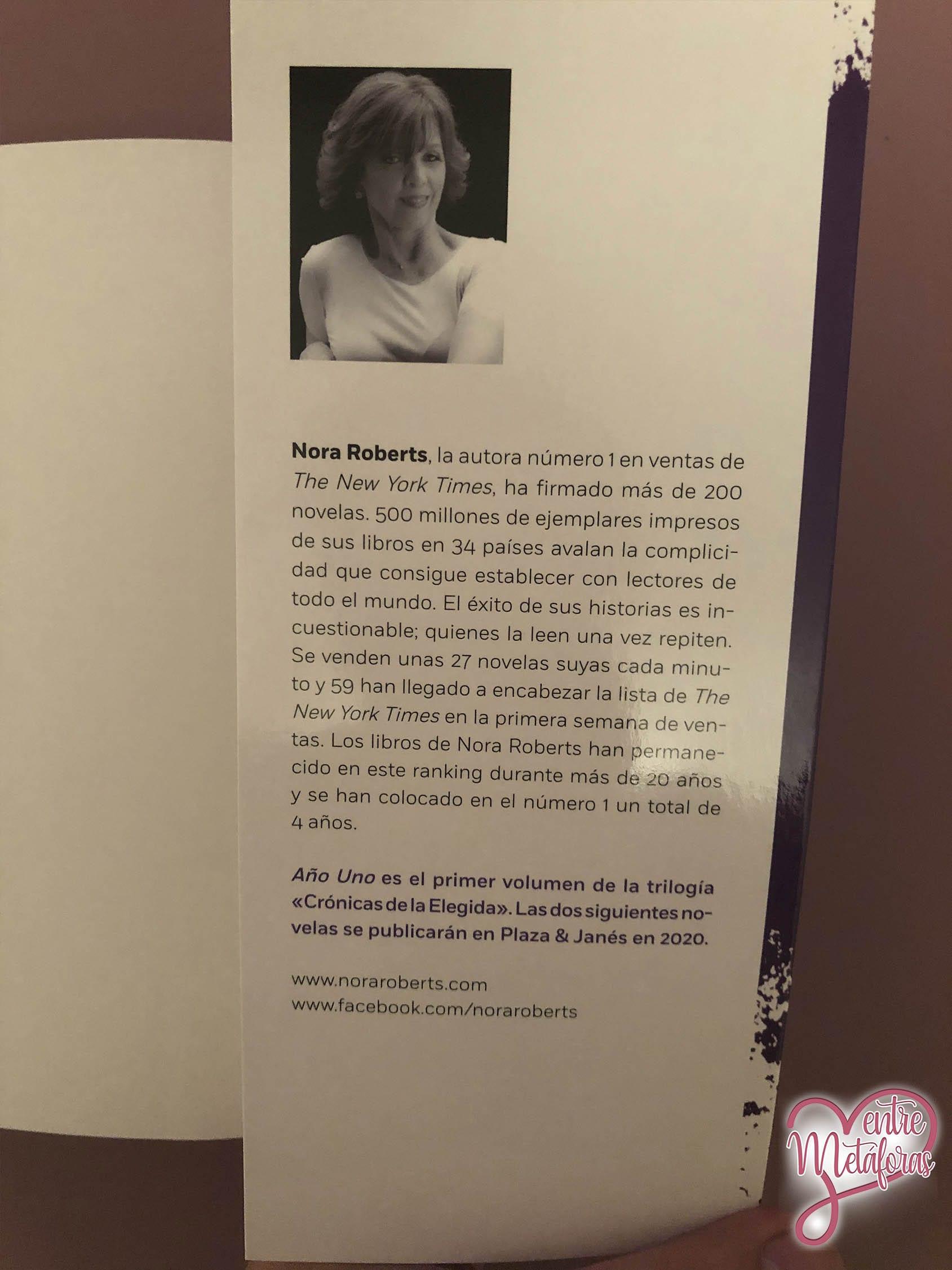 Año uno, de Nora Roberts - Reseña