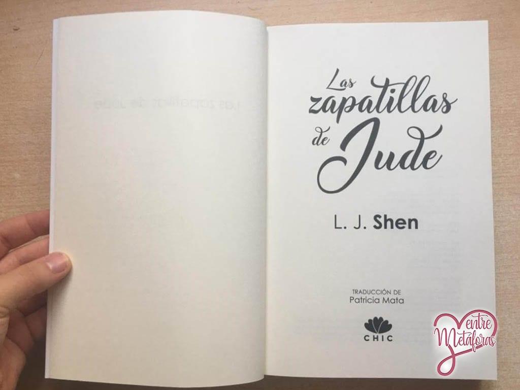 Las zapatillas de Jude, de L.J. Shen - Reseña