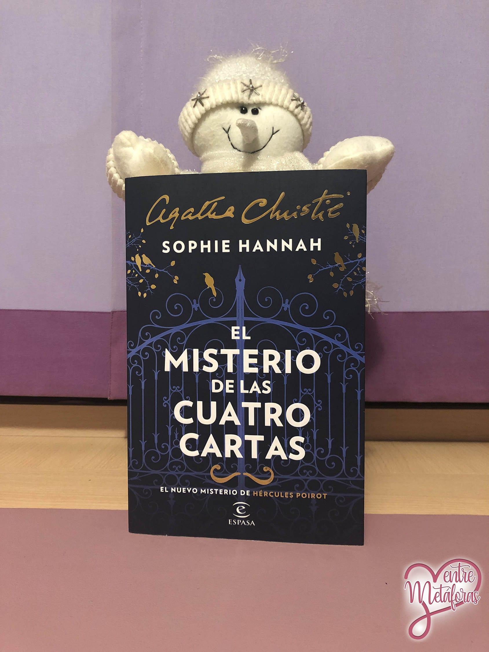 El misterio de las cuatro cartas, de Sophie Hannah - Reseña