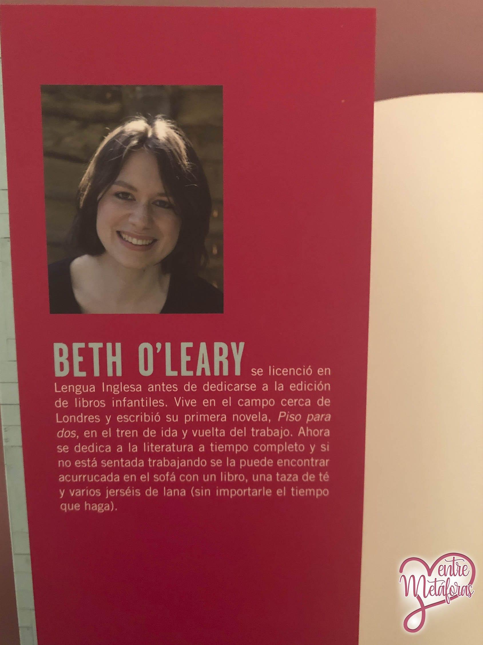 Piso para dos, de Beth O'Leary - Reseña