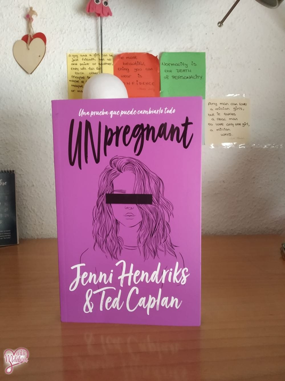 Unpregnant, de Jenni Hendriks y Ted Caplan - Reseña