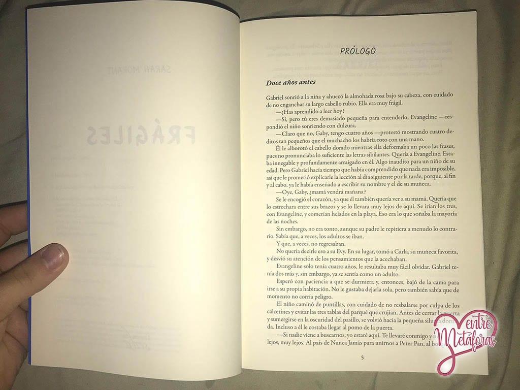 Frágiles, de Sarah Morant - Reseña