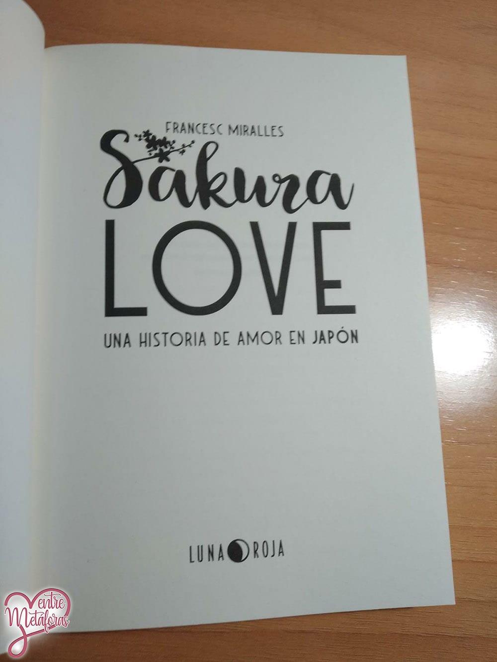 Sakura Love, de Francesc Miralles - Reseña