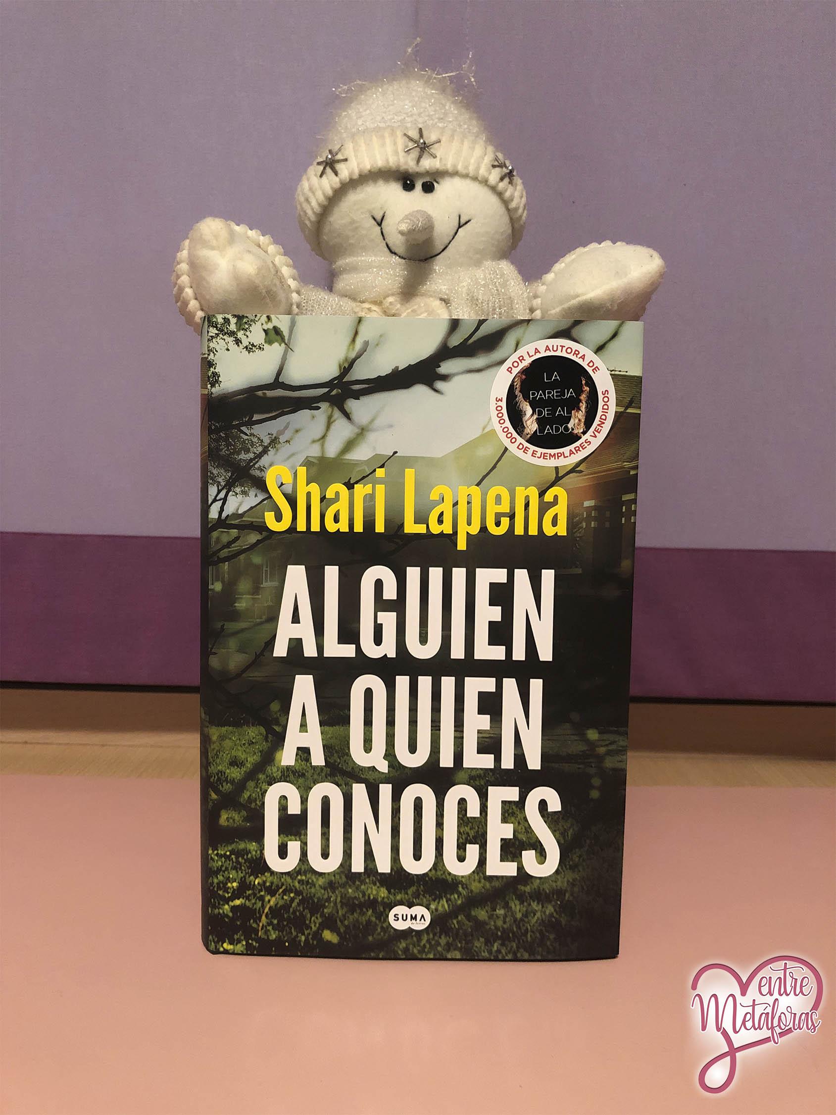 Alguien a quien conoces, de Shari Lapena - Reseña