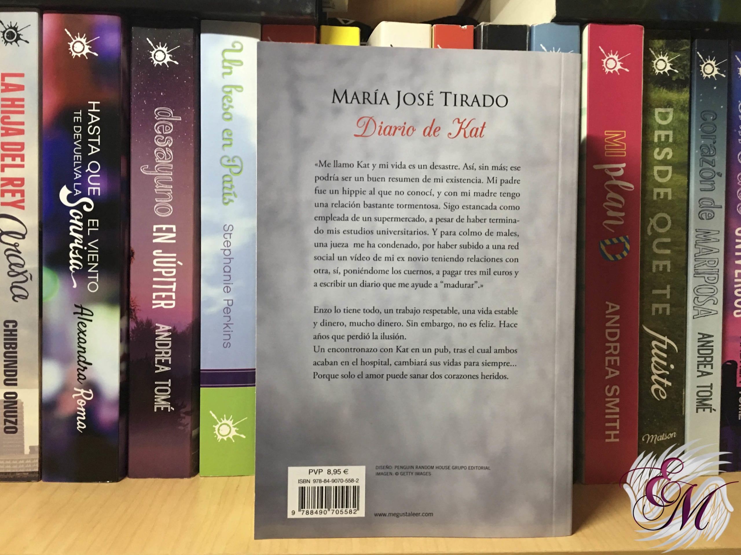 Diario de Kat, de María José Tirado - Reseña