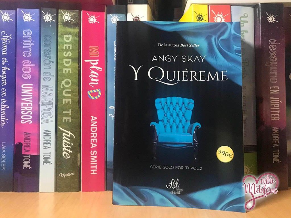Y quiéreme, de Angy Skay - Reseña