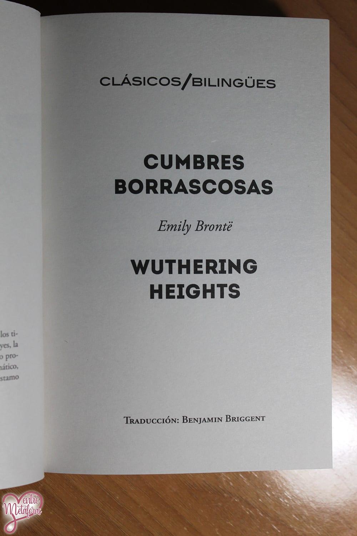 Cumbres Borrascosas, Emily Brontë - Reseña