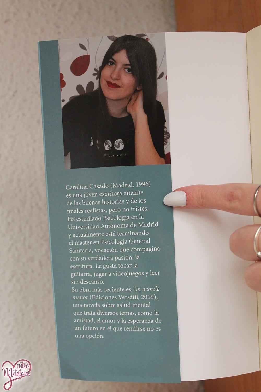 Ayer, nosotros, hoy, de Carolina Casado – Reseña