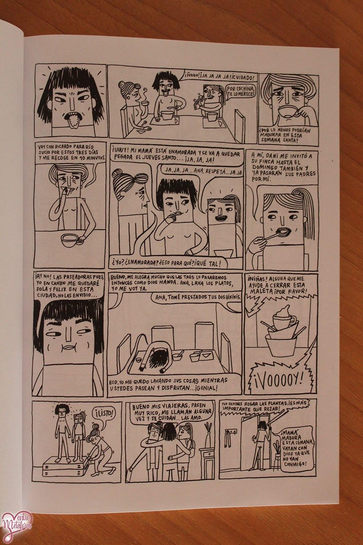 Pánico, de Ana María López - Reseña