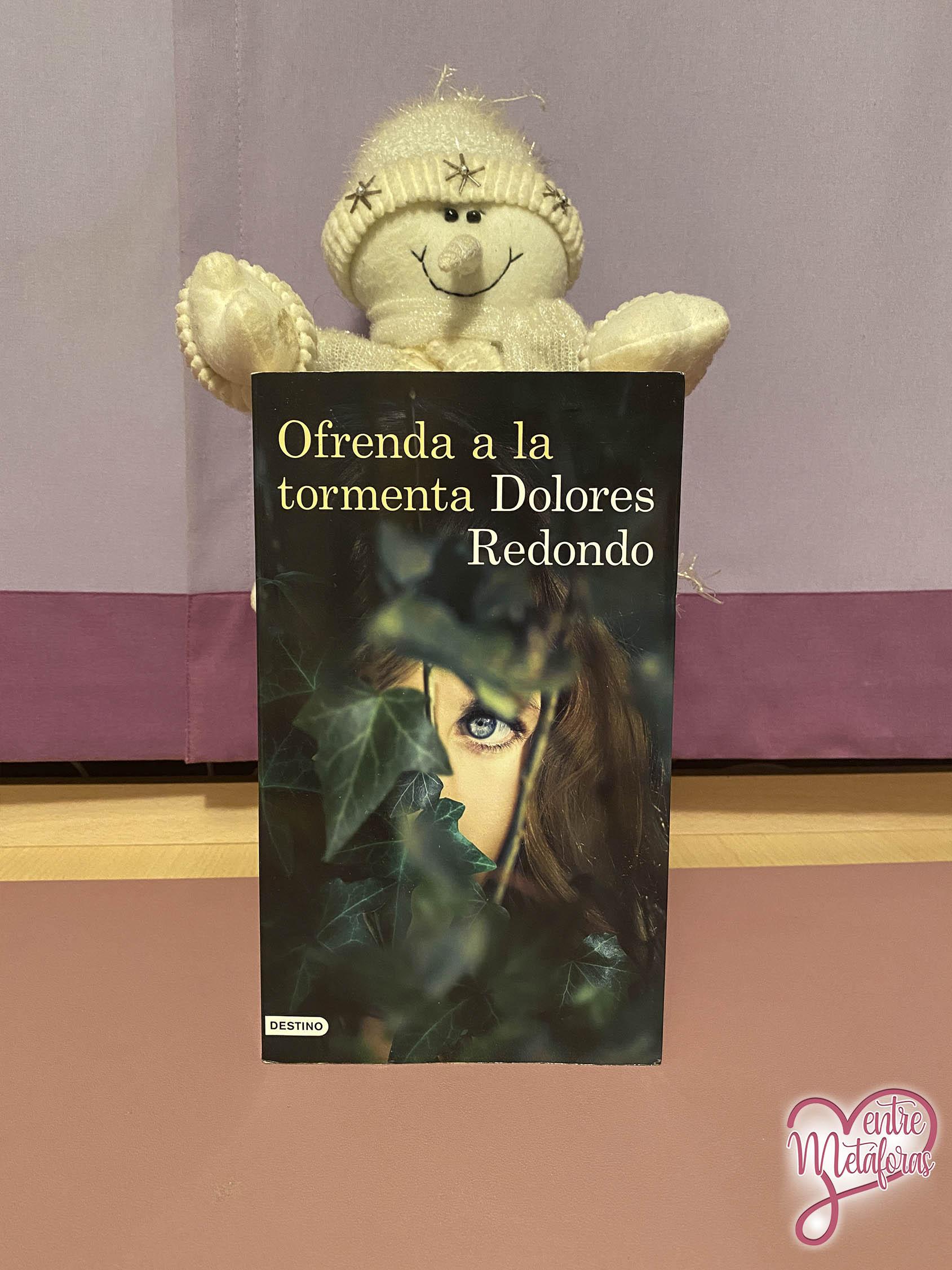 Ofrenda a la tormenta, de Dolores Redondo