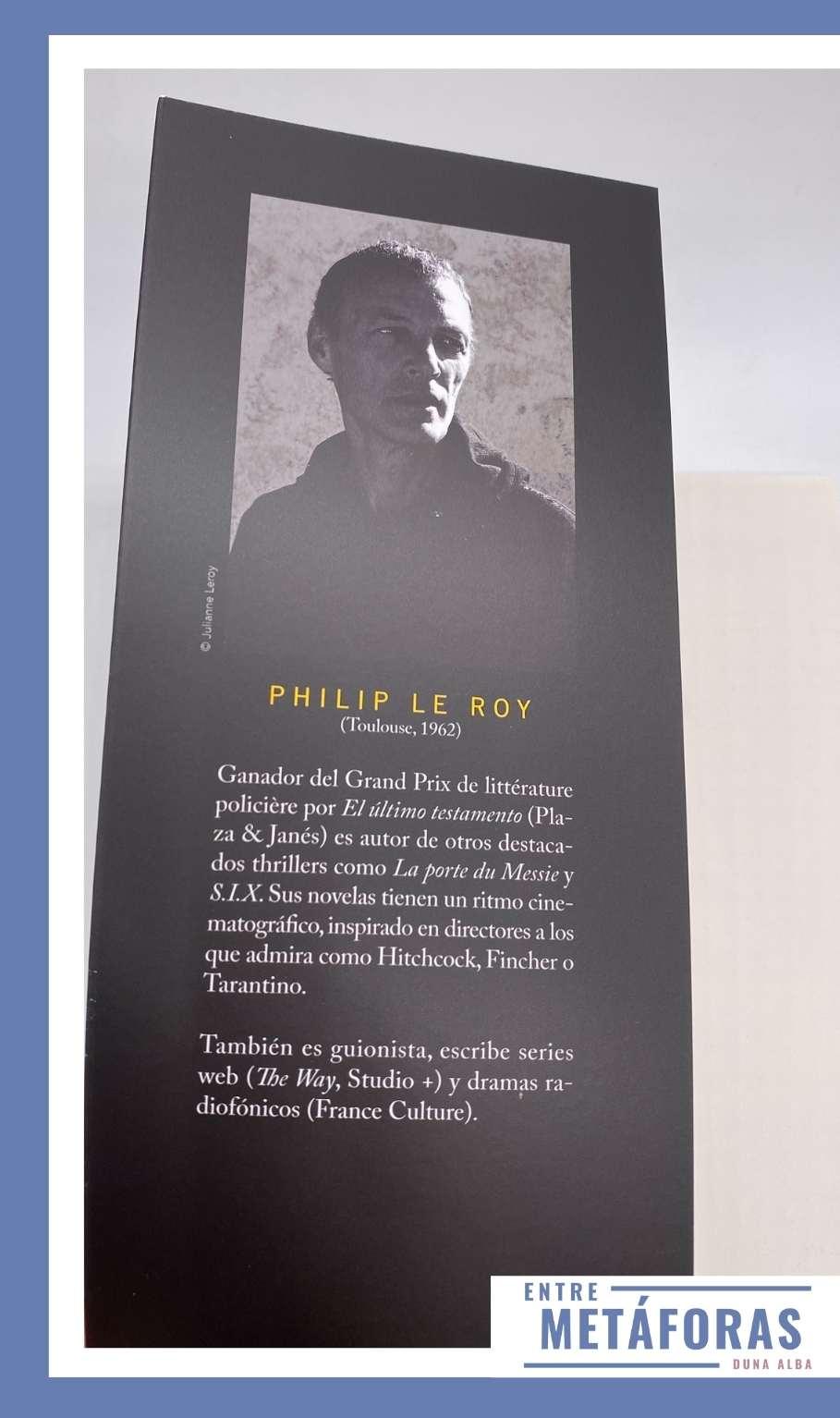 En la casa, de Philip Le Roy