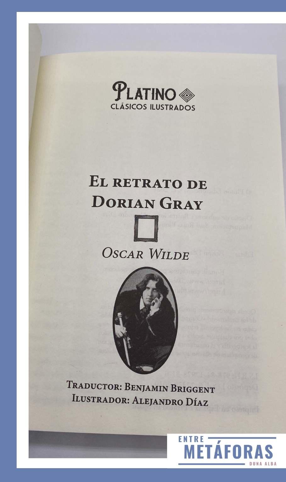 El Retrato de Dorian Gray, de Oscar Wilde