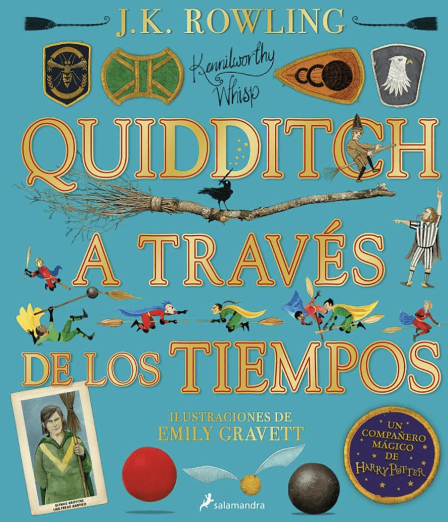 Quidditch a través de los tiempos, edición ilustrada