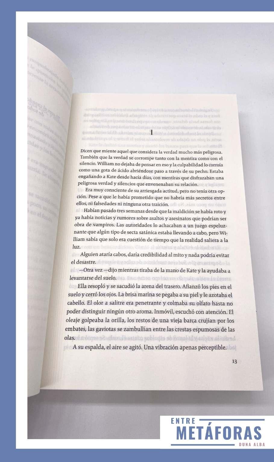 Almas oscuras #3 - Sacrificio, de María Martínez