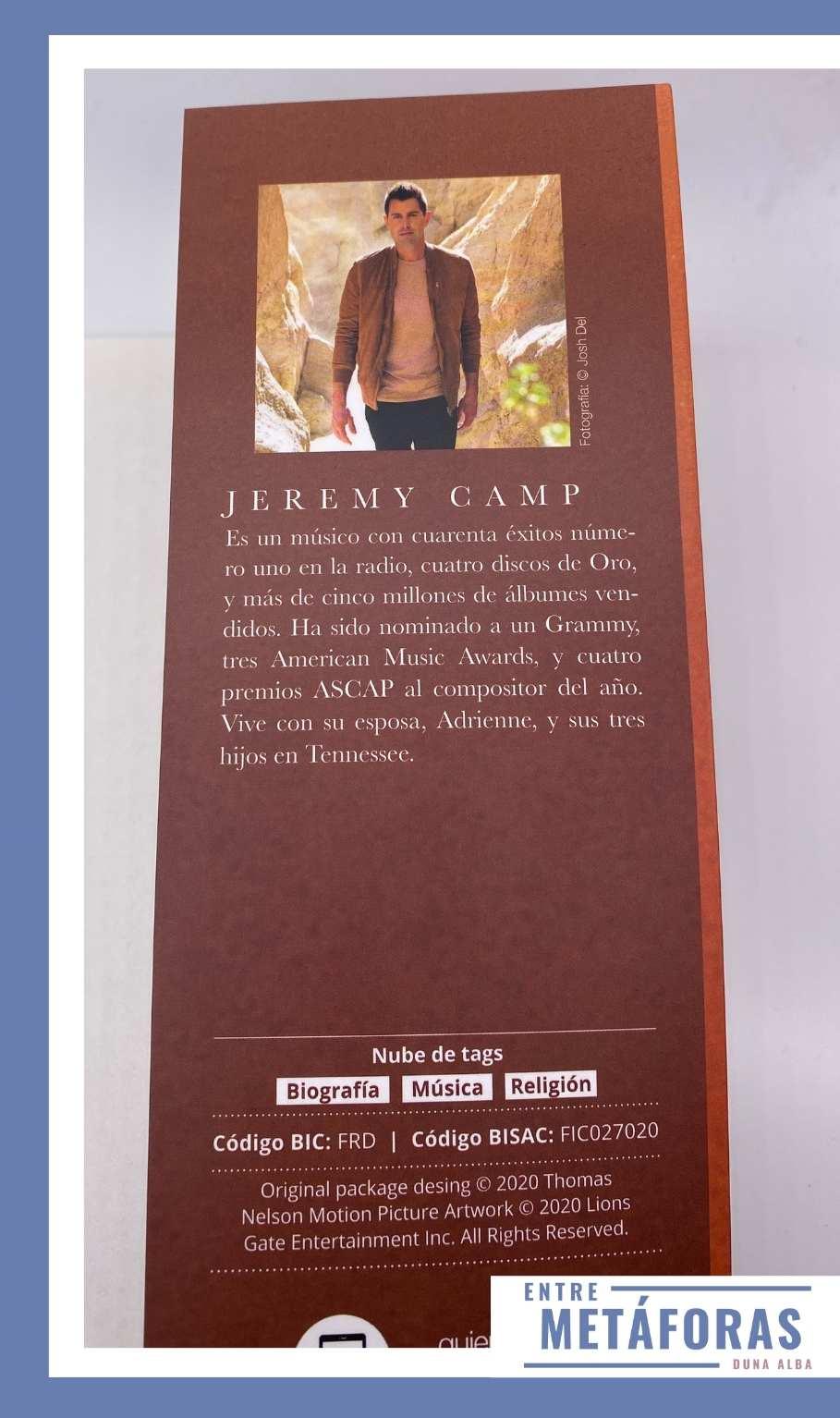 Mientras estés conmigo, de Jeremy Camp
